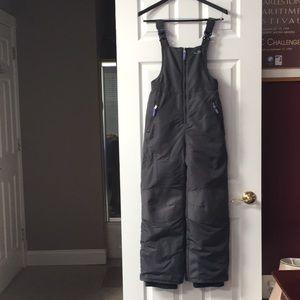 Other - Girl's C9 Champion gray snow bib pants